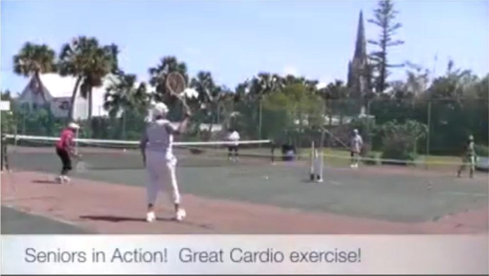 Seniors in Action - Tennis